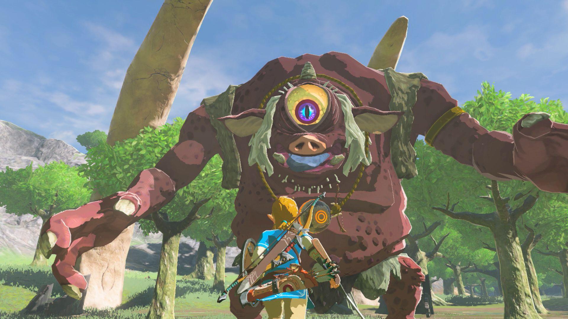 Legend of Zelda Breath of Wild
