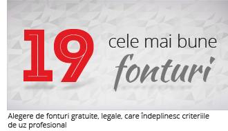 Colecția celor mai bune 19 fonturi