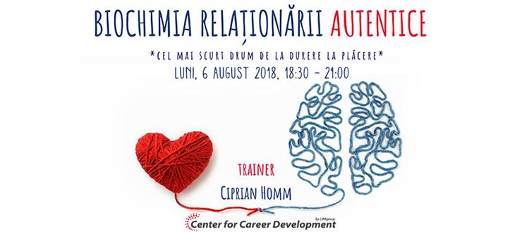 Seminar gratuit: Biochimia Relaționării Autentice