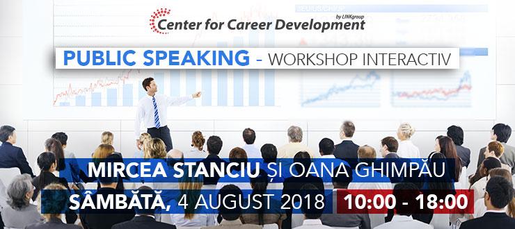 Seminar gratuit: Vorbirea publică