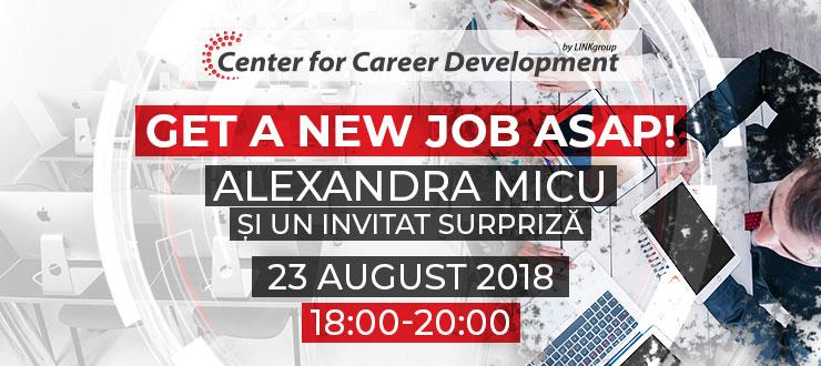 Seminar gratuit: Cum să obții un job în IT - ASAP