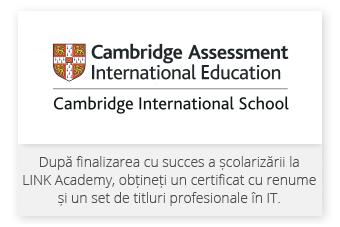 Departamentul de Examinări Internaţionale Cambridge