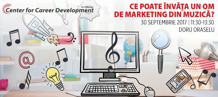 Seminar gratuit: Ce poate învăța un om de Marketing din muzică?
