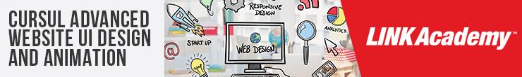 Advanced Website UI Design and Animation