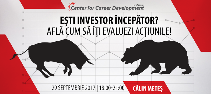 Seminar gratuit: Ești investitor începător?