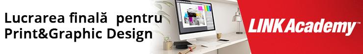 Cursul Lucrarea finală pentru Print & Graphic Design