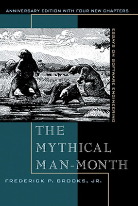 Book: Mythical Man-Month: Essays on software engineering