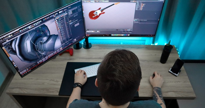Animația 3D studio de design animație