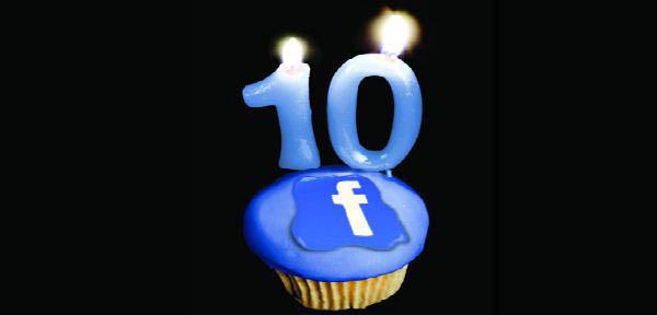 Facebook a împlinit 10 ani