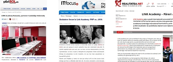 Link Academy forum