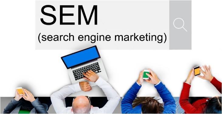 SEM Search Engine Marketing online Promoție