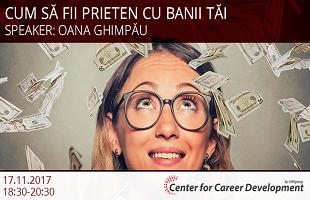Seminar gratuit: Cum să fii prieten cu banii tăi
