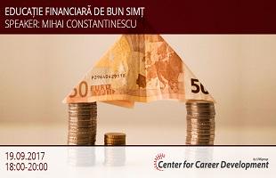 seminar gratuit Educație financiară de bun simț